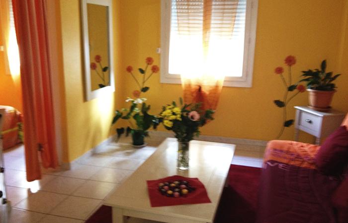 location appartement meubl 2 4 personnes centre lamalou les bains tout confort acc s. Black Bedroom Furniture Sets. Home Design Ideas