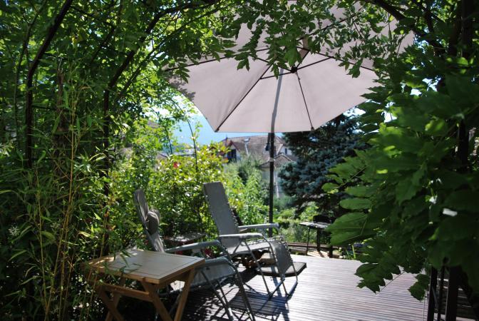 F1bis Neuf rez de jardin, centre ville pour une cure ...