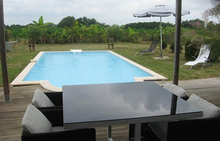 Maison avec piscine priv e pour une cure thermale - Cure eugenie les bains ...