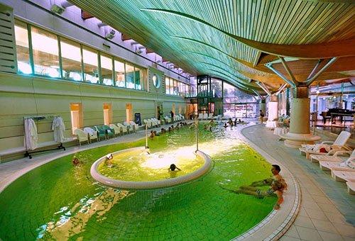Cure thermale de aix les bains station des thermes for Tarif piscine aix les bains